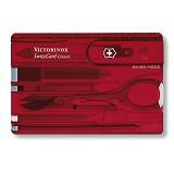 VICTORINOX Swisscard Lite [0.7300.T] - Red Translucent - Multi Tool